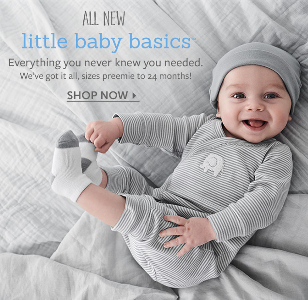 "All new little baby basicsâ""¢ 