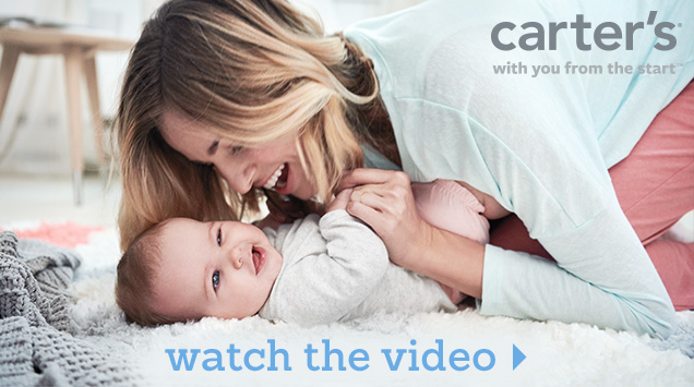 Carter's® | With you from the start™ | Watch the video